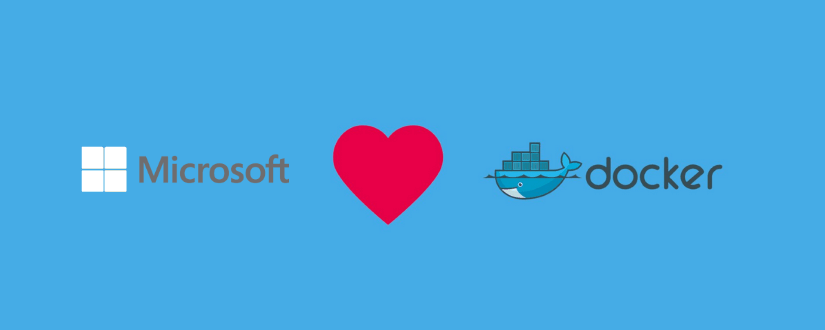 Microsoft ama a Docker - Imagen ornamental