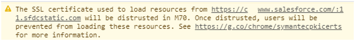 Certificado SSL expirado