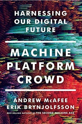 Portada del libro Machine, platforma, crowd