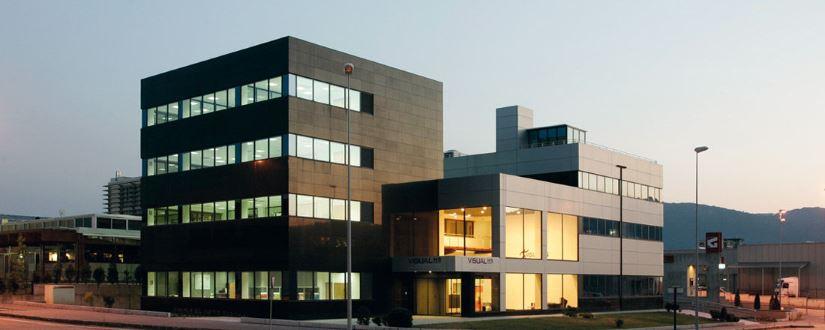 Fotografía del edificio corporativo vCenter de Velneo