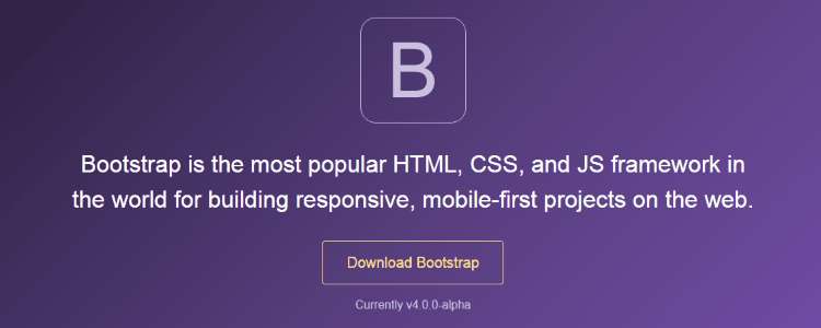 Disponible BootStrap 4 Alpha
