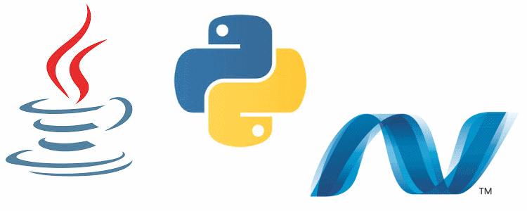Java-Phyton-DotNet