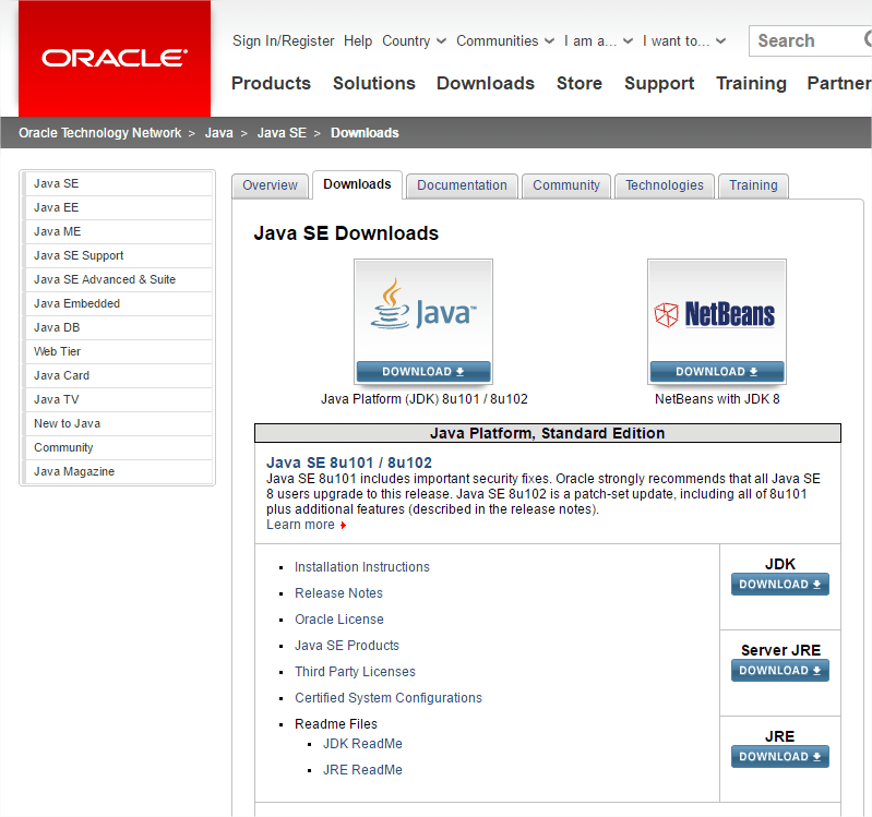 OracleDownloads