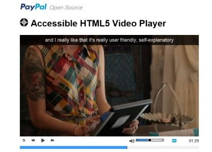 Paypal-accessible-html5-video-player