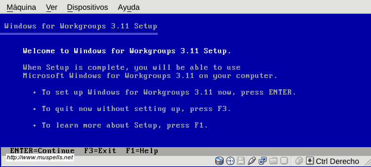 FRIKADAS: Windows 3.11 en tu navegador
